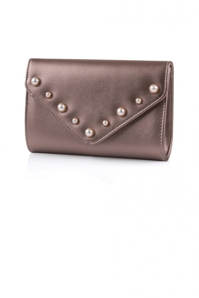 Little Mistress Champagne Stud Bag