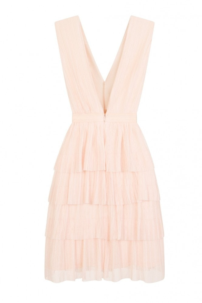 Head In The Clouds Tiered Dress