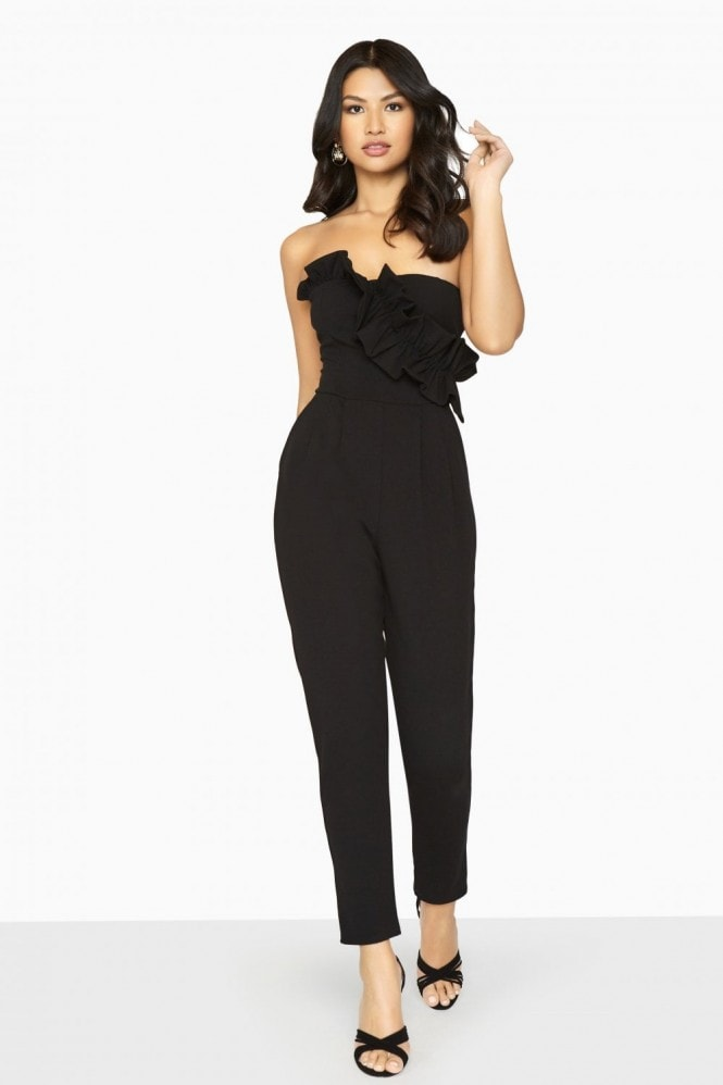 Girls on Film Halcyon Frill Jumpsuit