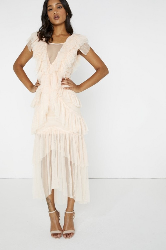 Mimosa Tiered Tulle Dress