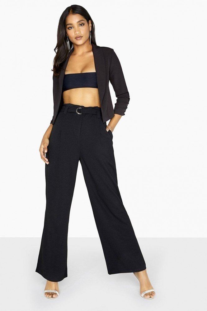 Outrageous Fortune Paperbag Trouser Co-Ord With Belt