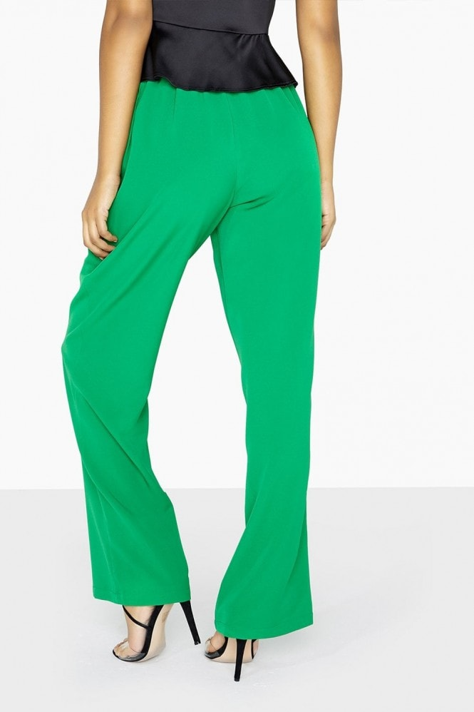 Outrageous Fortune Green Wide Leg Trouser Co-Ord