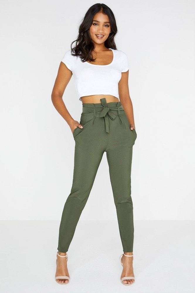 Girls on Film Khaki Trouser