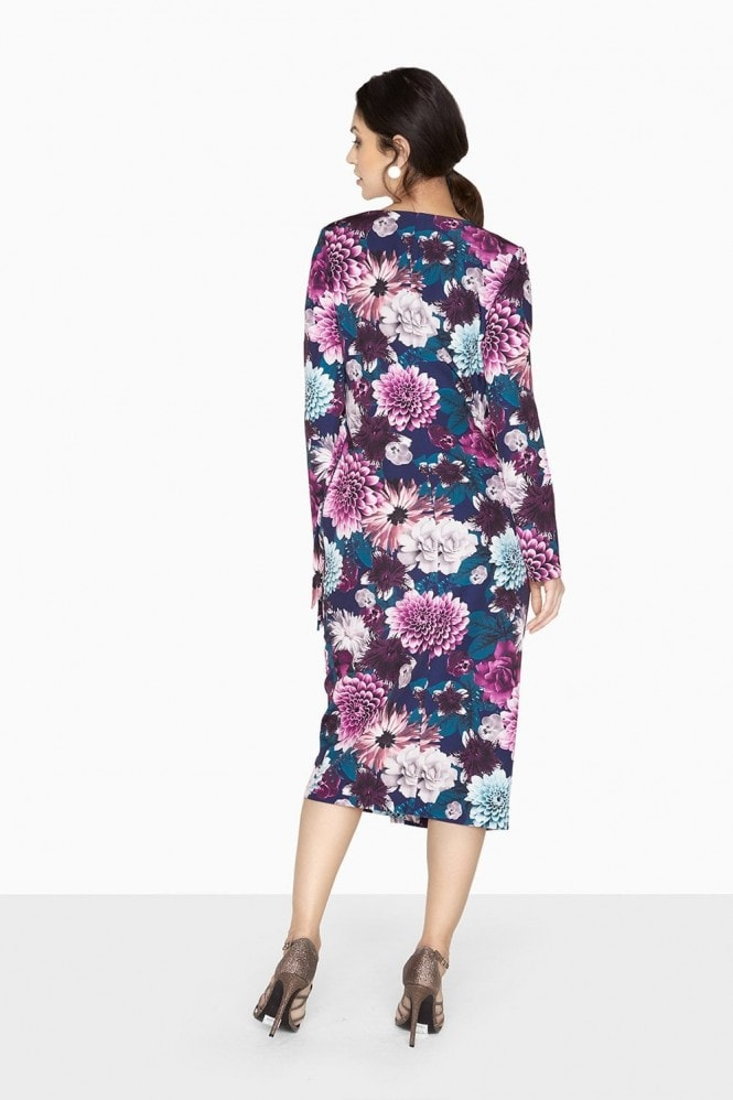 Outlet Paper Dolls Paxton Bright Floral Wrap Dress