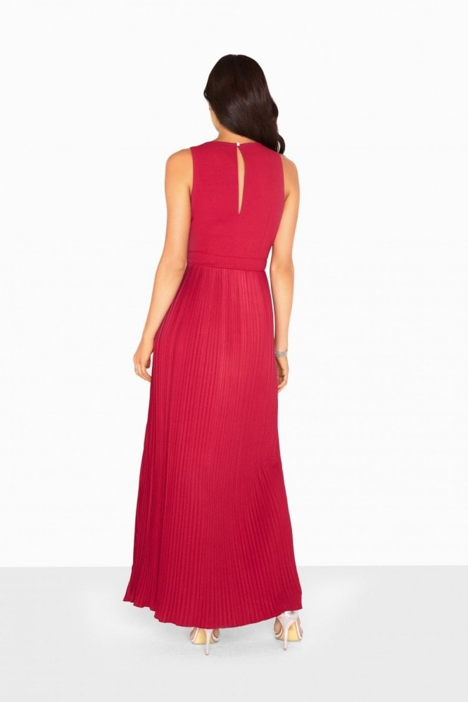 Madison Embellished Waist Maxi Dress
