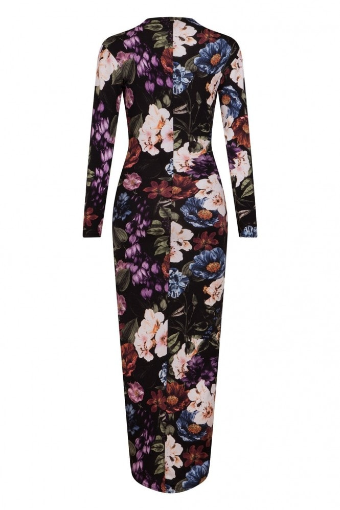 Divine Blossom Wrap Dress