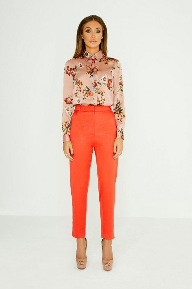 Studio Mouthy Classic Floral Print Shirt
