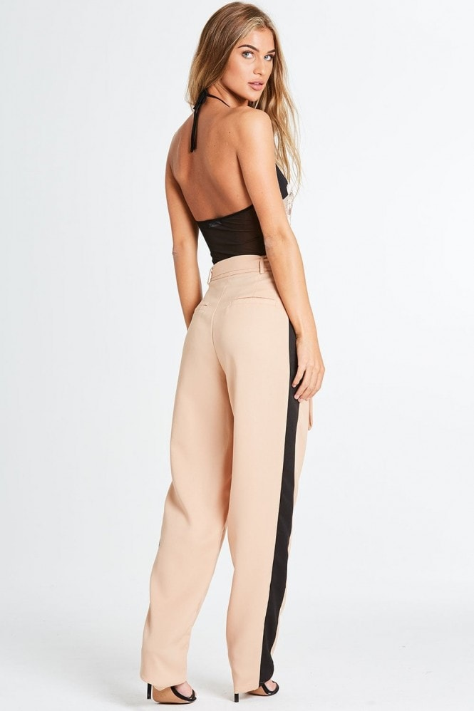 Finery Nude Tapered Trousers