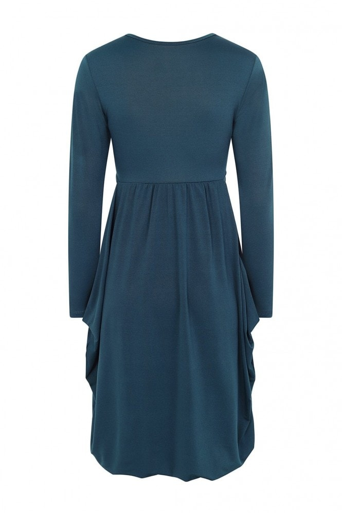 Madsen Smock Dress In Teal
