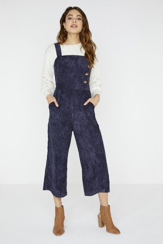 Girls on Film Reuben Corduroy Jumpsuit With Buttons
