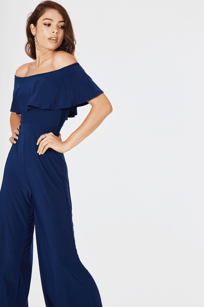 Girls on Film Avril Wide Leg Jumpsuit