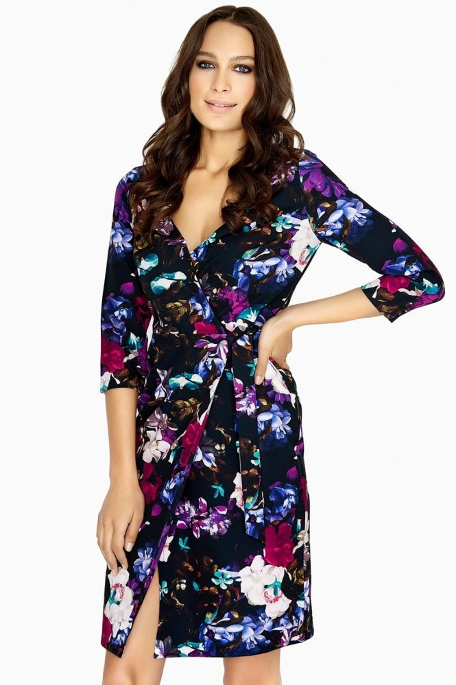Outlet Paper Dolls Nord Floral-Print Wrap Dress