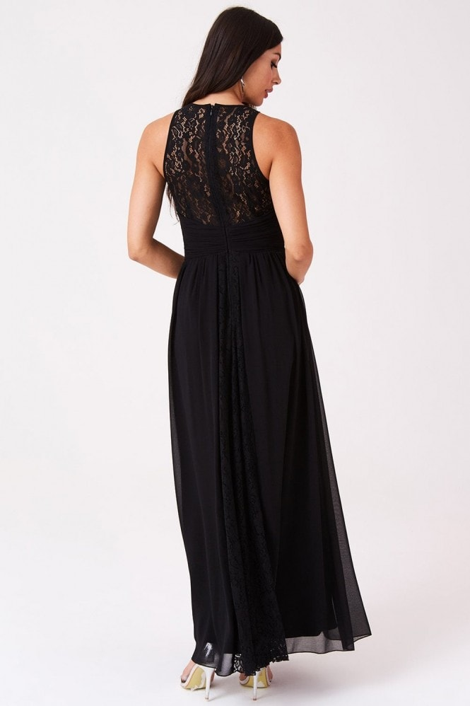 Melrose Lace Back Maxi Dress