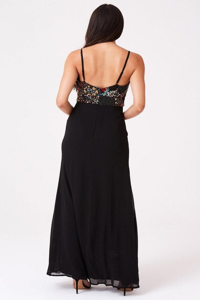 Little Mistress Luxury Perla Embellished Cami Maxi