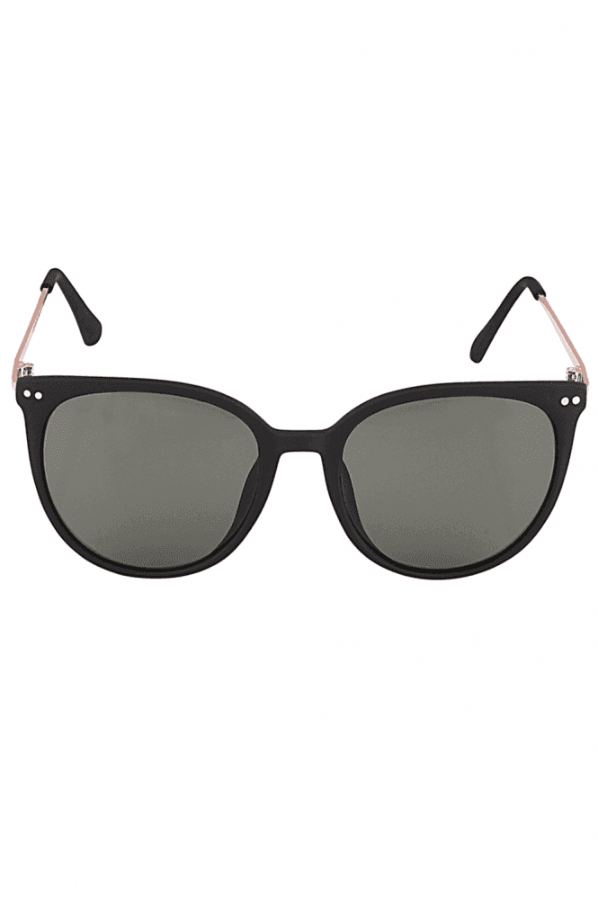 Round Sunglasses In Black