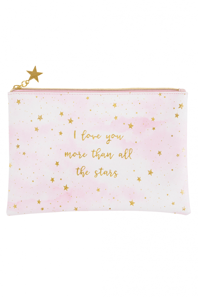 Sass & Belle Scattered Stars Mum Love You More Pouch