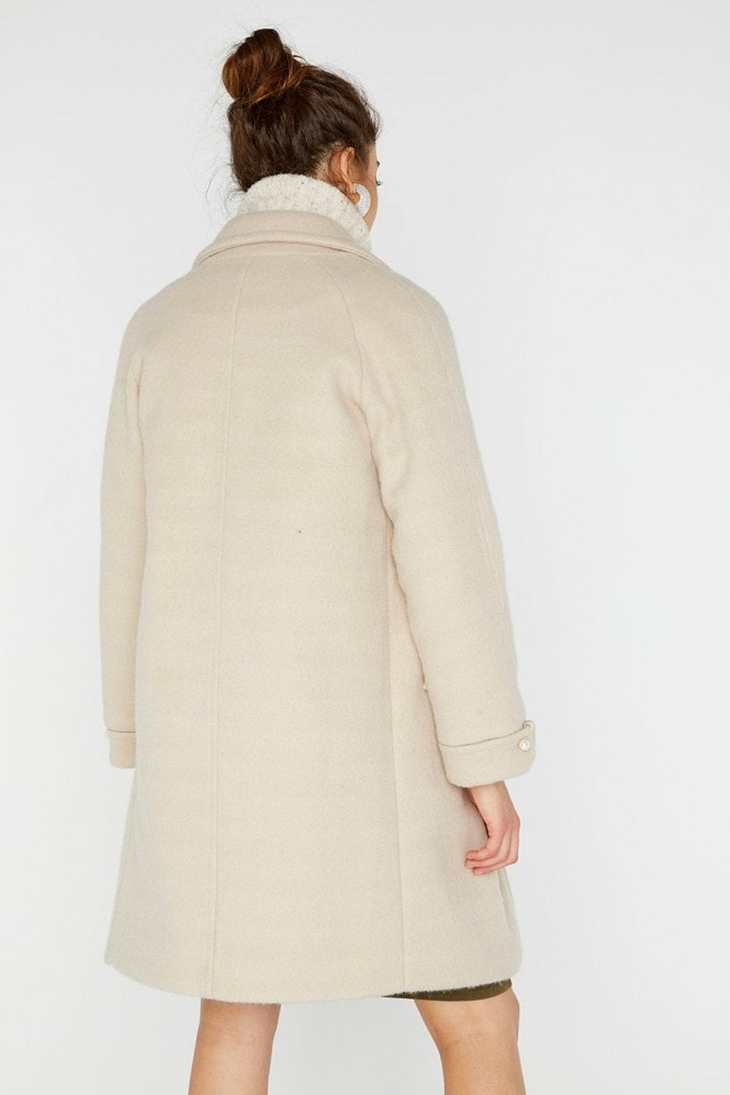 Girls on Film Pearl Detail Coat