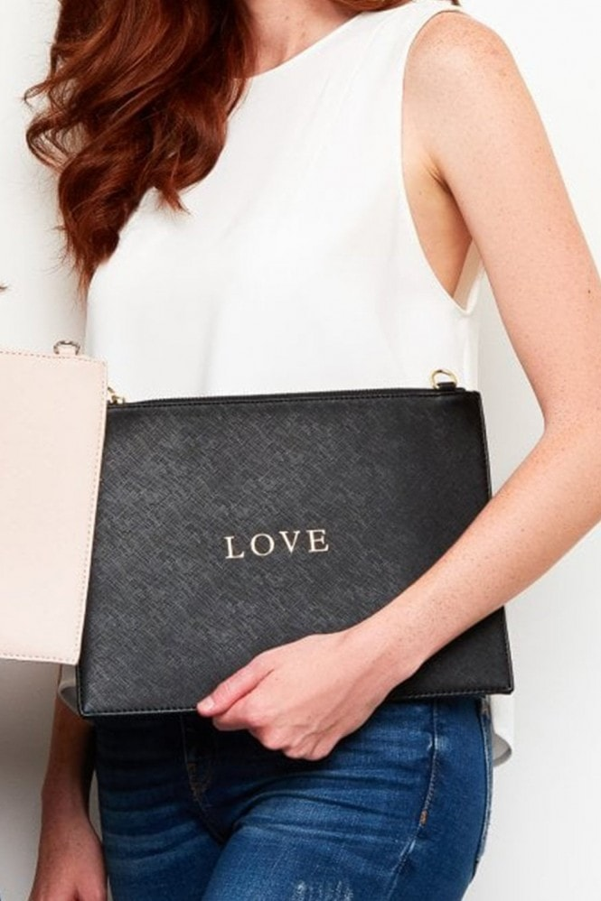 Johnny Loves Rosie Mono Clutch Bag