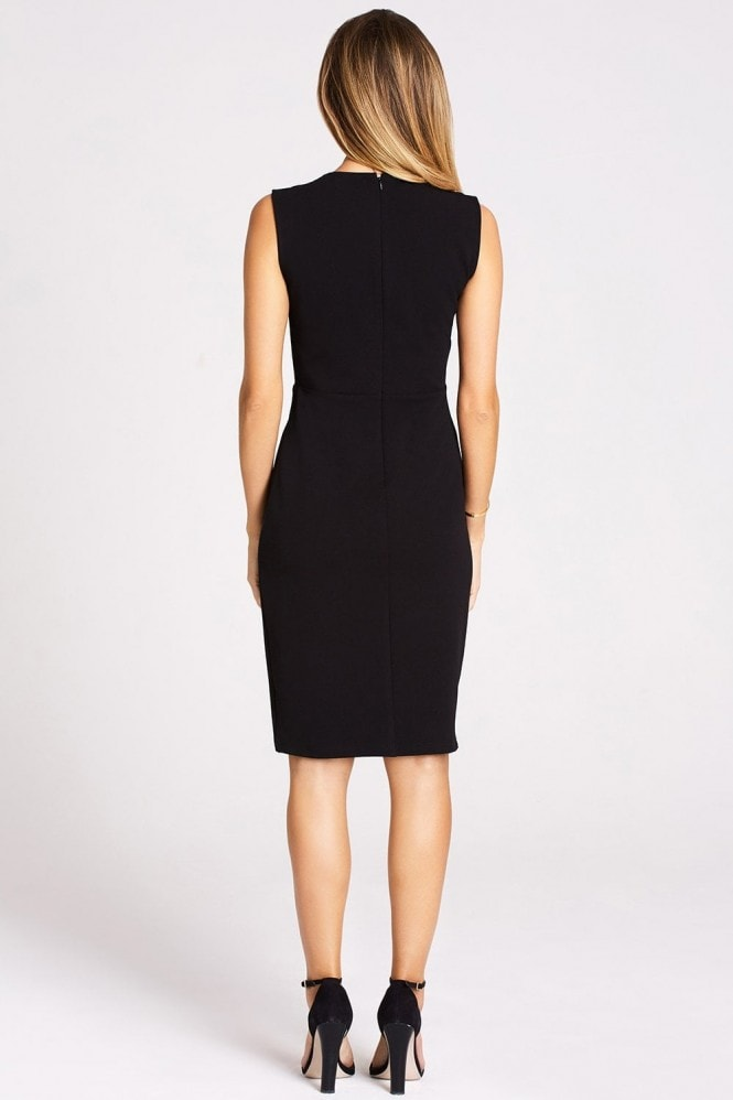 Studio Mouthy Black Tuxedo Dress