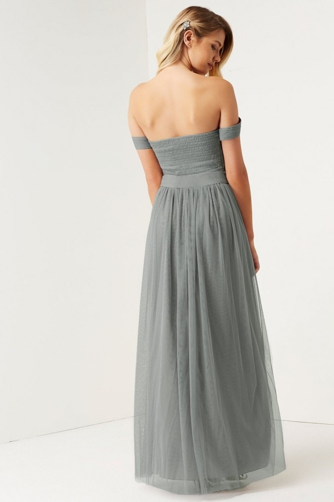 Little Mistress Waterlily Jewel Waist Maxi