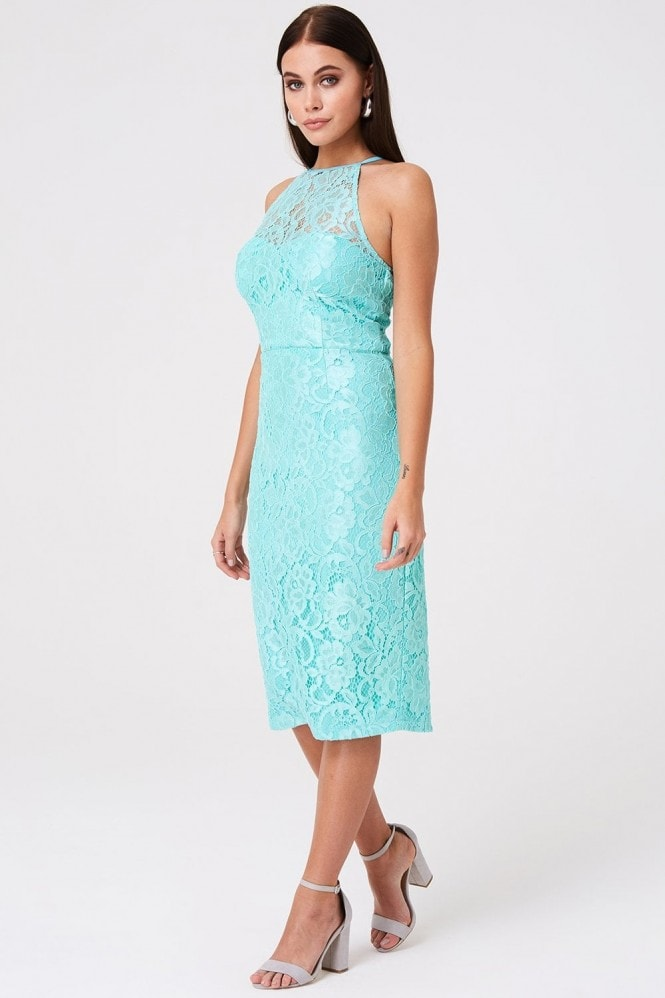 Paper Dolls Carlyle Mint Lace Dress