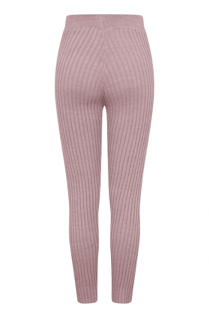 Costello Blush Ribbed Loungewear Set