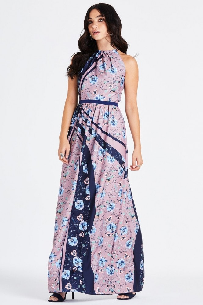 Little Mistress Arlie Ditsy Floral Maxi Dress