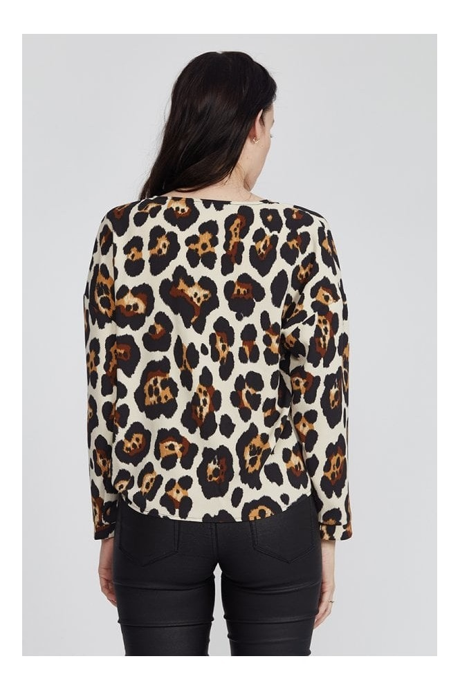 Divine Grace Animal Print Top