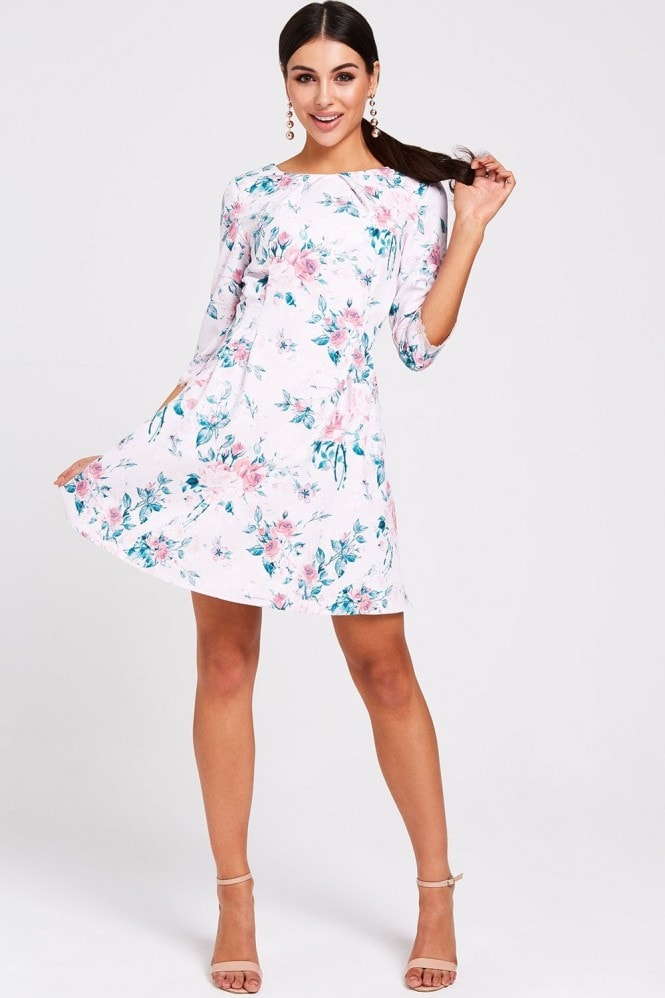 Paper Dolls Montreal Floral-Print Dress