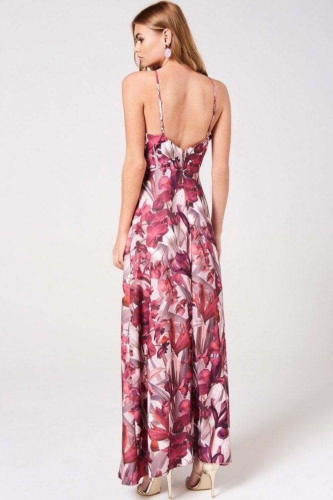 Little Mistress Marlowe Floral Maxi Dress