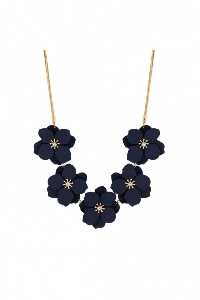 Jon Richard Jewellery Blue Flower Allway