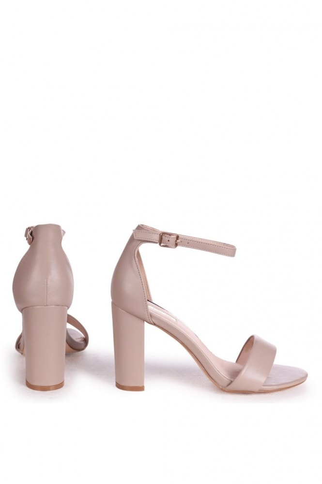 Linzi NELLY - Taupe Nappa Single Sole Block Heel