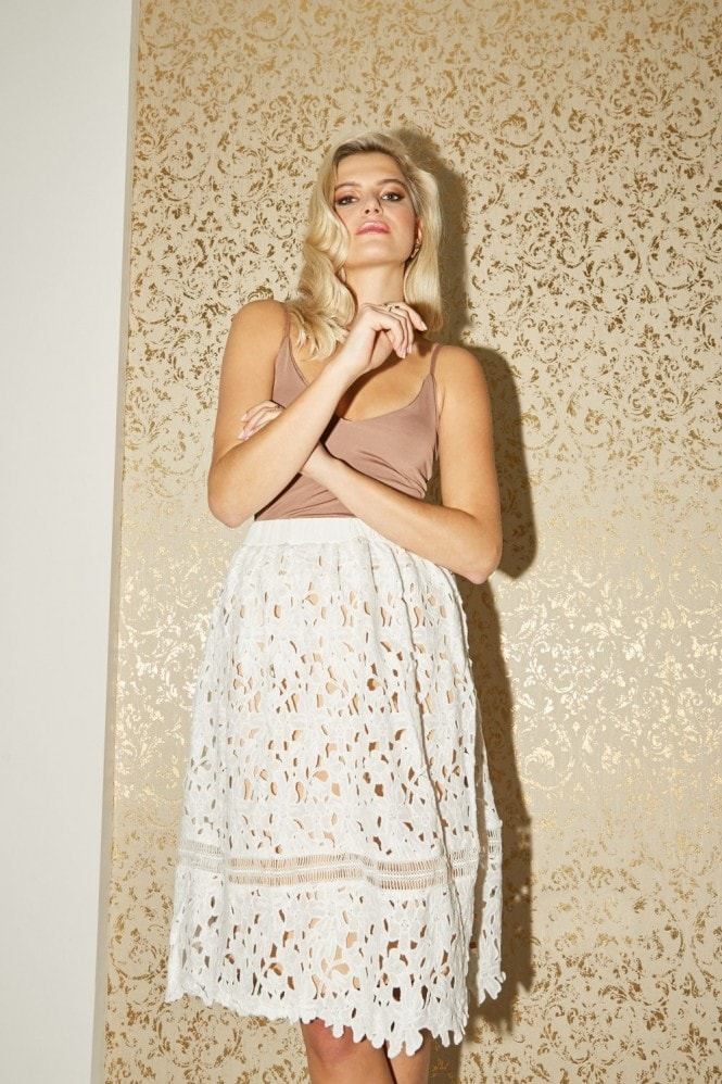 Riverine Lace Skirt