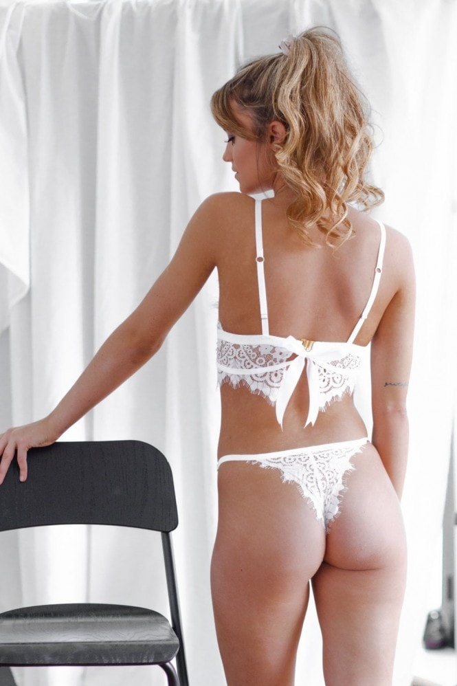Imogen Apparel Theia Panties White