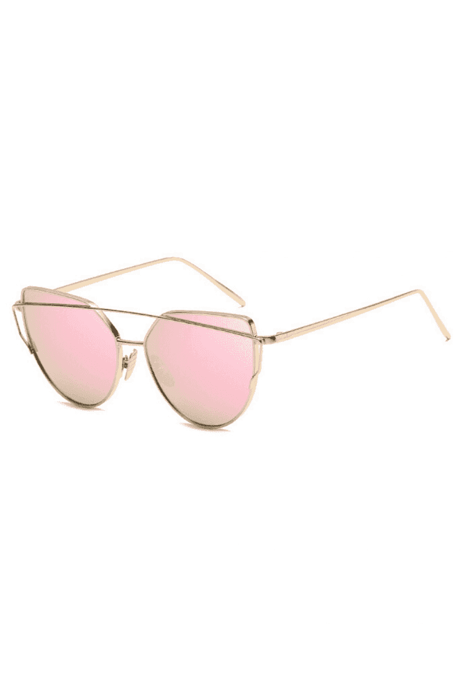 Don't Be Shady Lucy Mirror Cat Eye Sunglasses