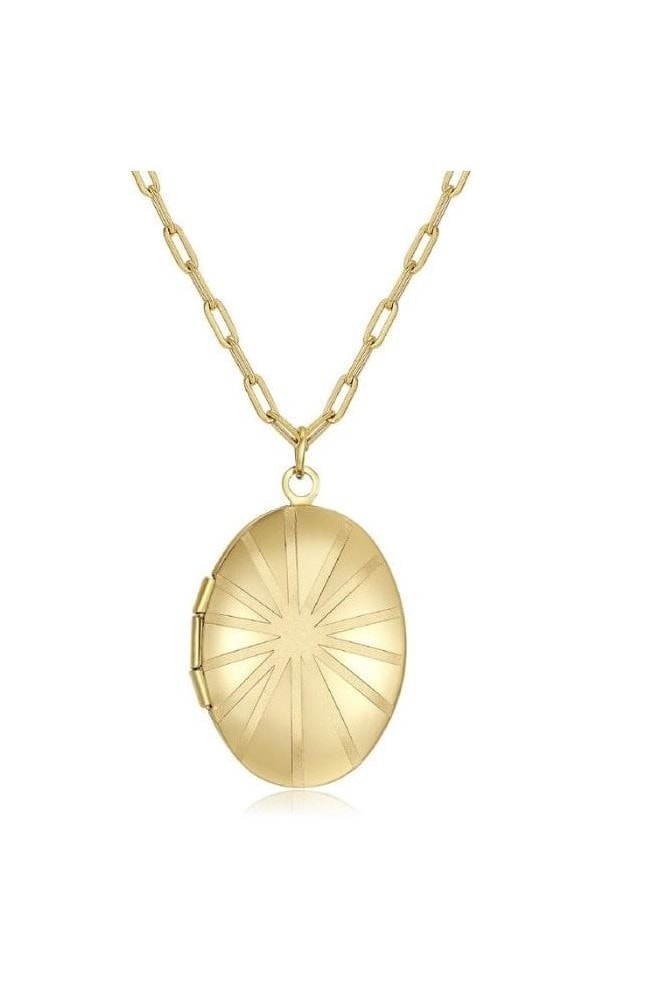 Haus Of Deck 18k Gold Plated Locket Necklace
