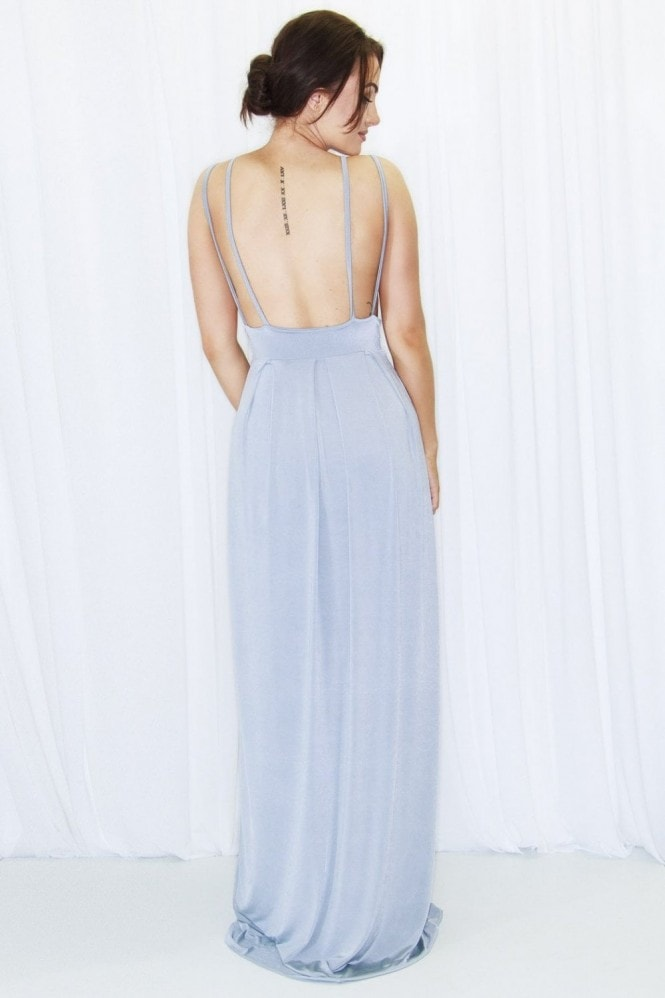Dressed By Lauren Idina Plunge Front Maxi