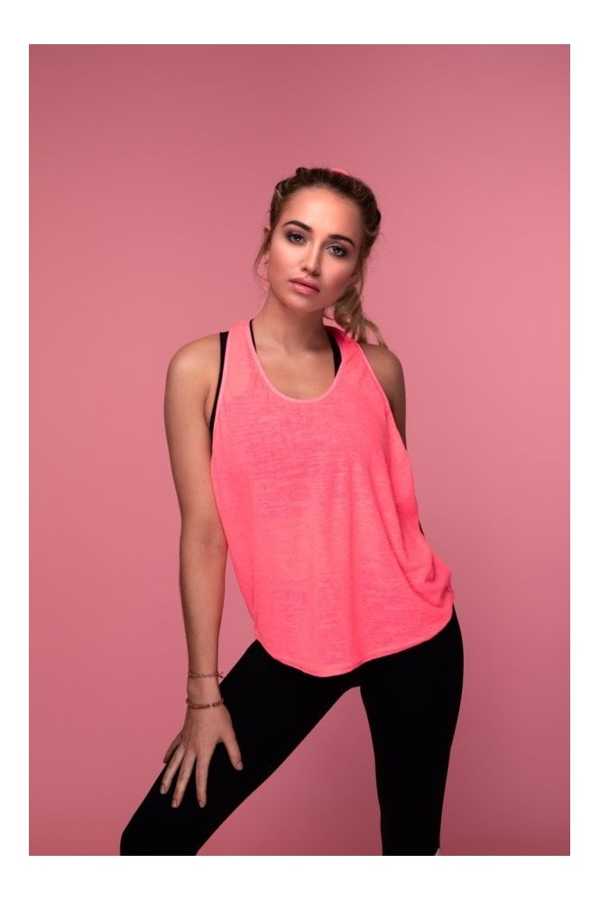 GHX Style The T Tank Top (Pink)