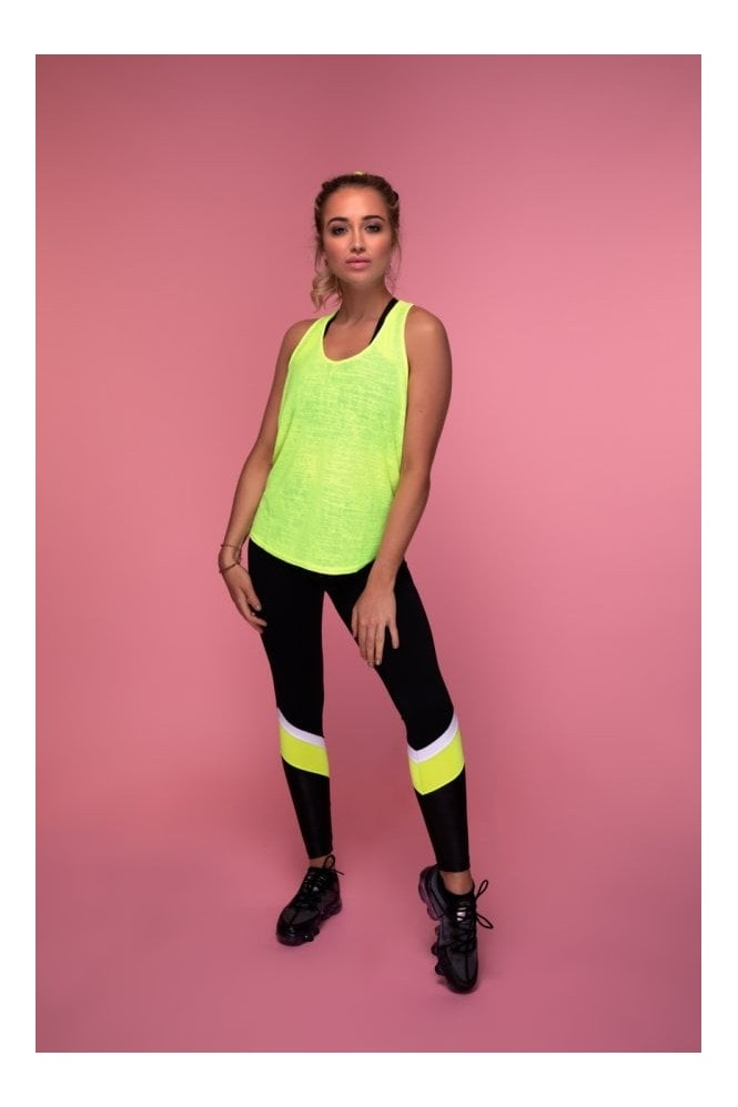GHX Style The T Tank Top (Yellow)