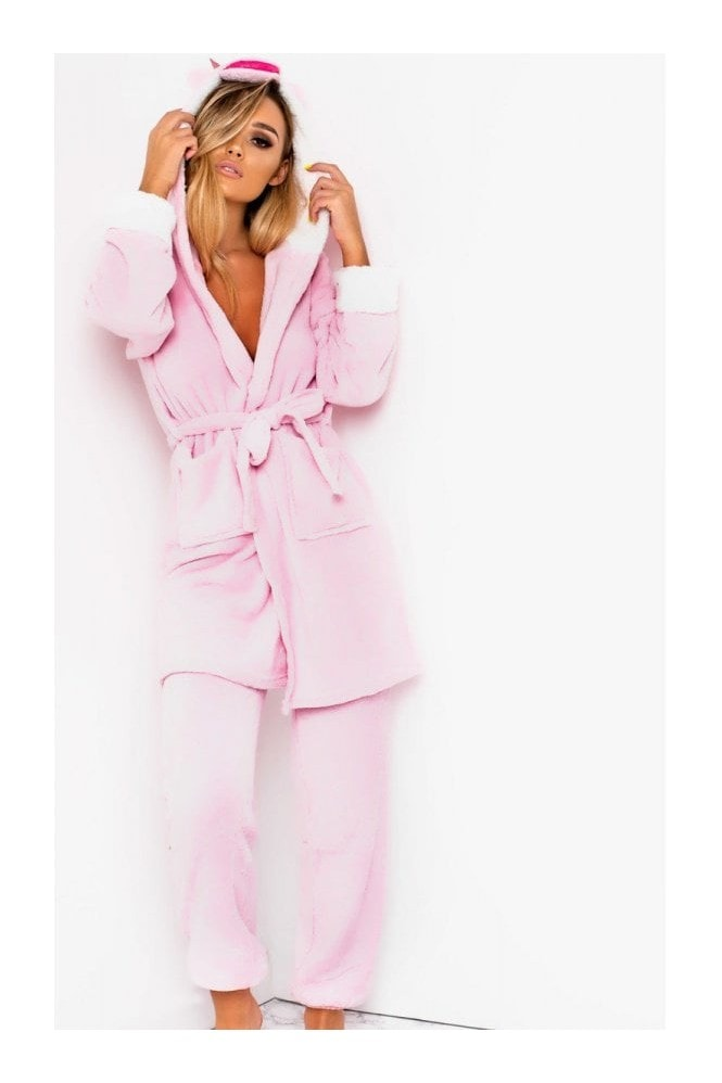 IKRUSH Fliss Unicorn Dressing Gown