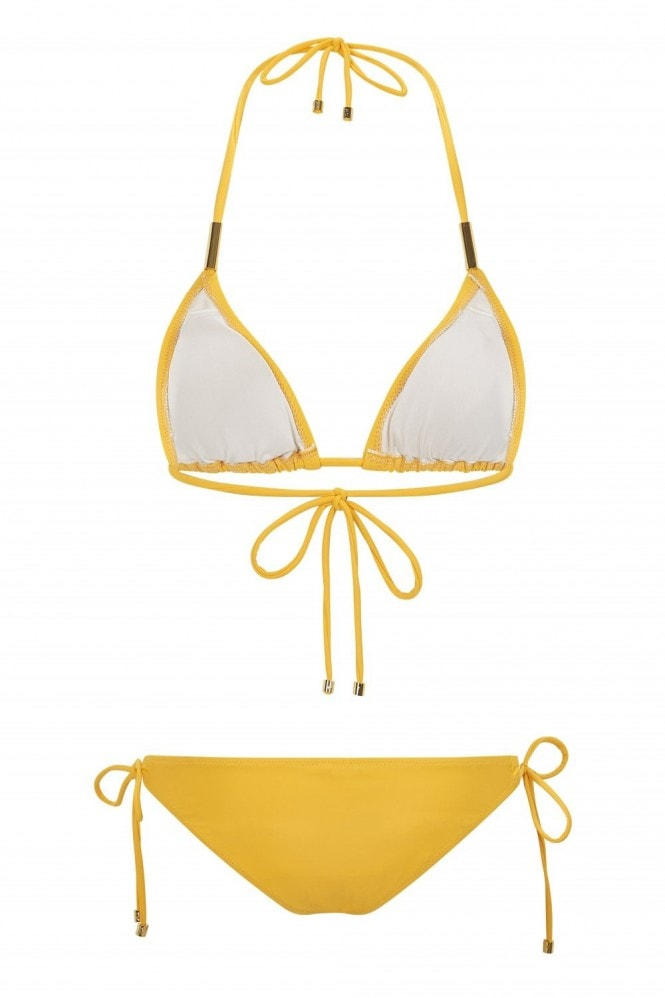 Mavele Swimwear Sunshine Fox Triangle Bikini Top