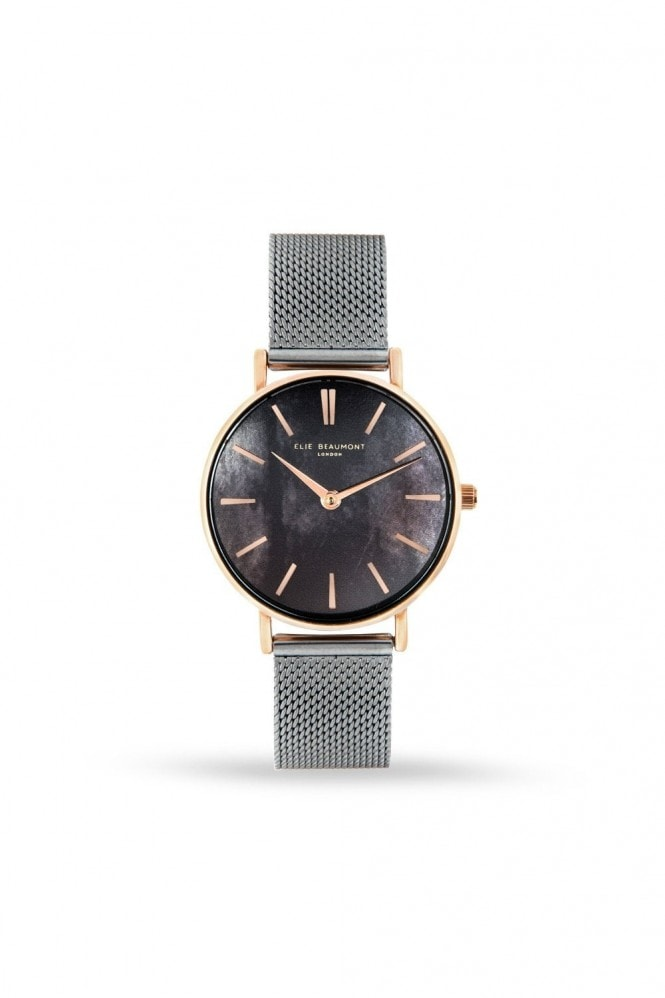 Elie Beaumont Shoreditch Grey/Titanium Watch