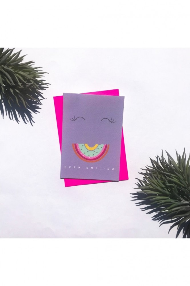 Sprout Stationery Keep smiling Card