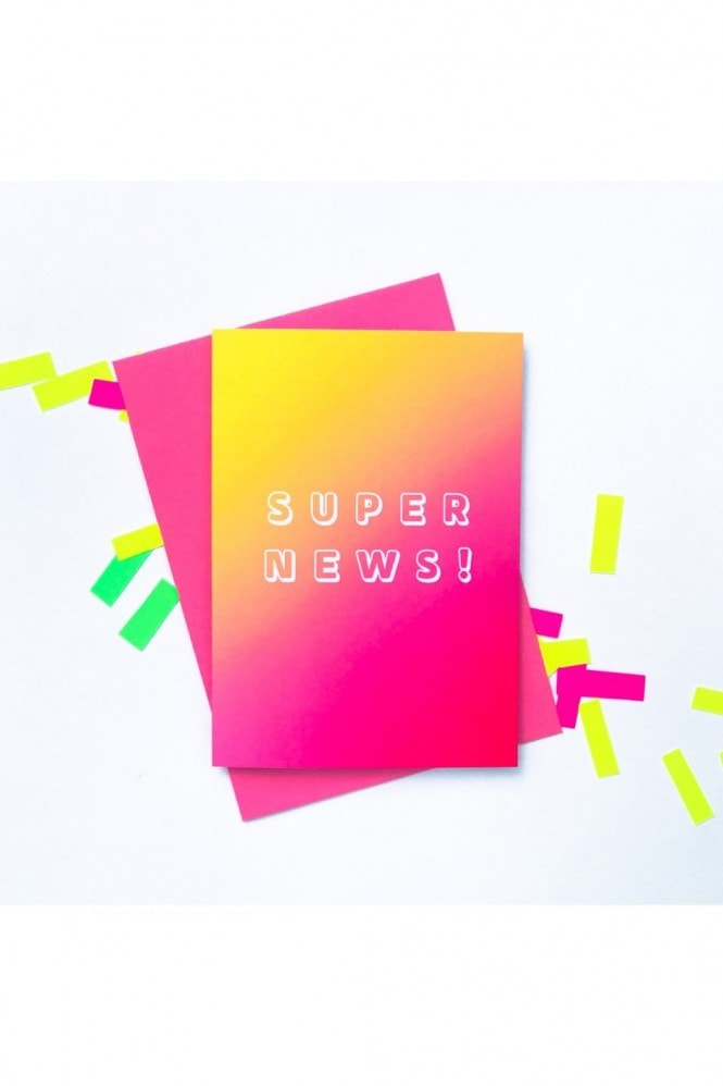 Sprout Stationery Super News Card