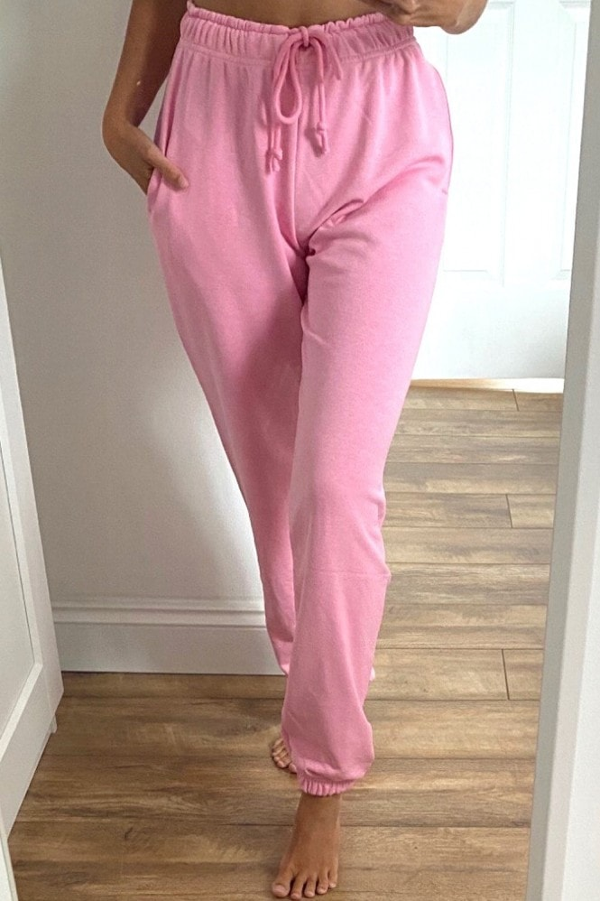Outrageous Fortune Loungewear Jogger In Pink