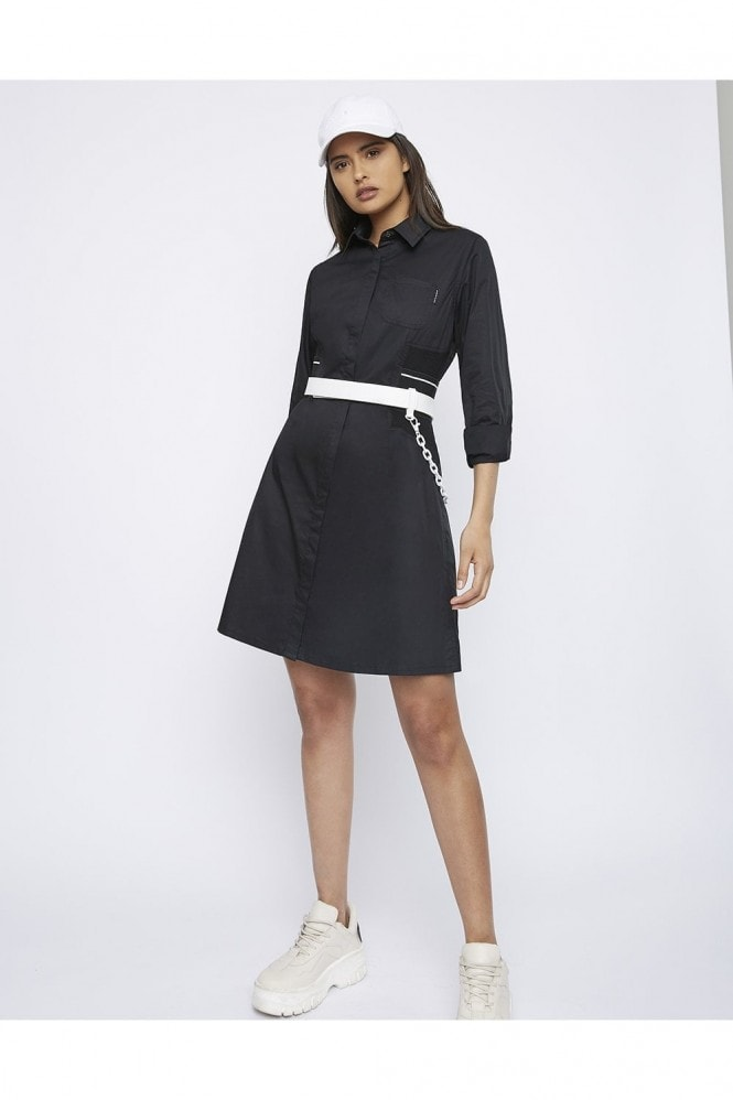 "Whyte Studio THE ""DUTY"" SHIRT DRESS"