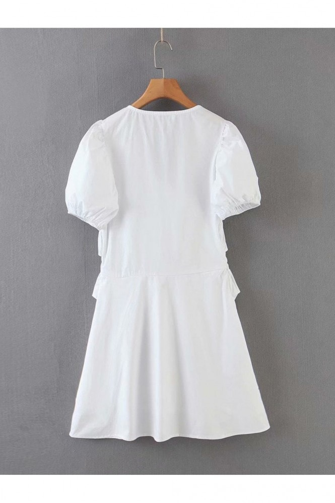 FS Collection Summer White Mini Dress