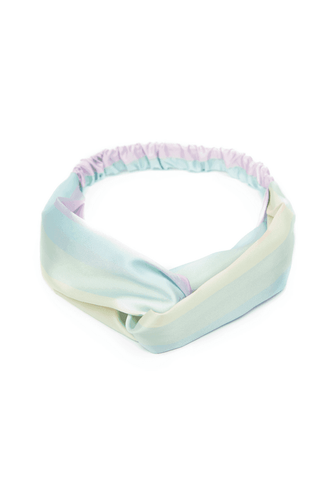 Kands London Rainbow Twist Front Headband