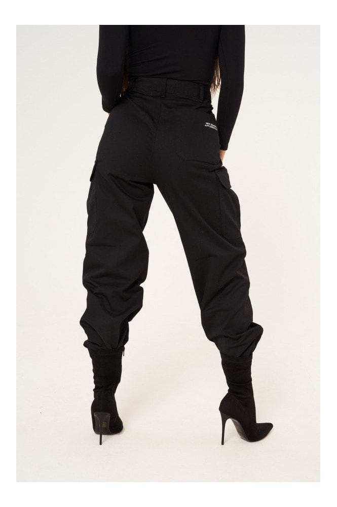 Sian Marie High Waisted Cargo Pants