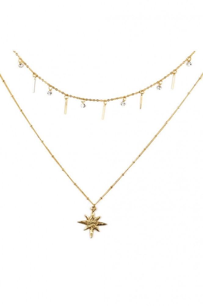 J Florence London Bright star necklace